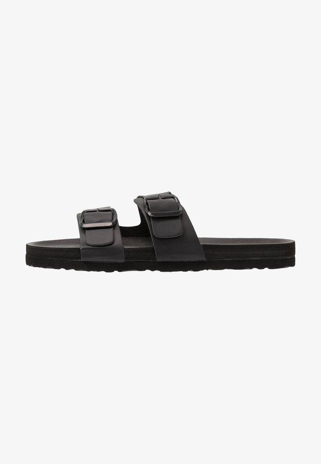 CHARLIEKHKI - Slippers - black