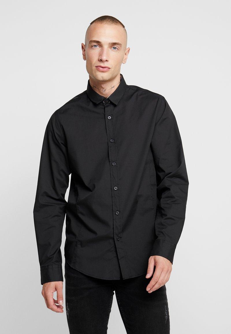Brave Soul - TUDOR - Zakelijk overhemd - black