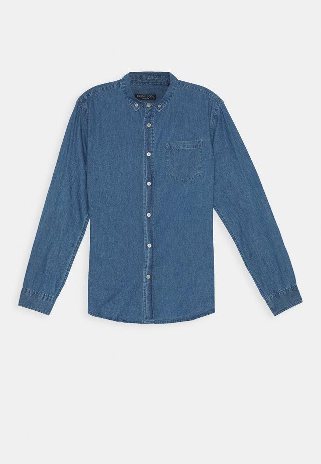 NARRATOR - Hemd - mid denim blue
