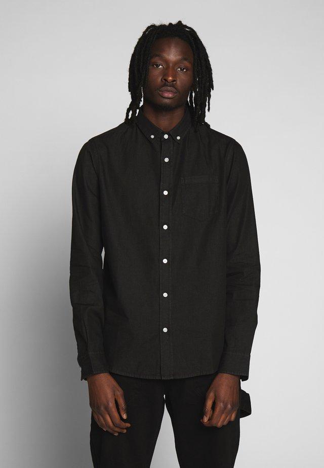 Košile - black denim
