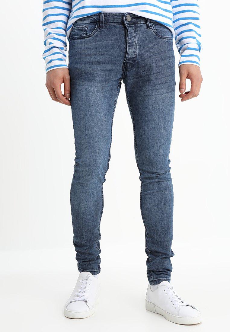 Brave Soul - DONTE - Jeans Skinny Fit - blue deniim