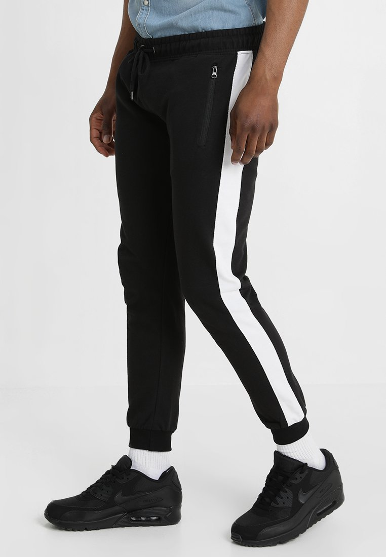Brave Soul - MAJESTIC - Tracksuit bottoms - jet black