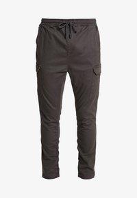 Brave Soul - HADDON - Pantalon cargo - charcoal grey - 3