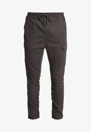 HADDON - Pantalon cargo - charcoal grey