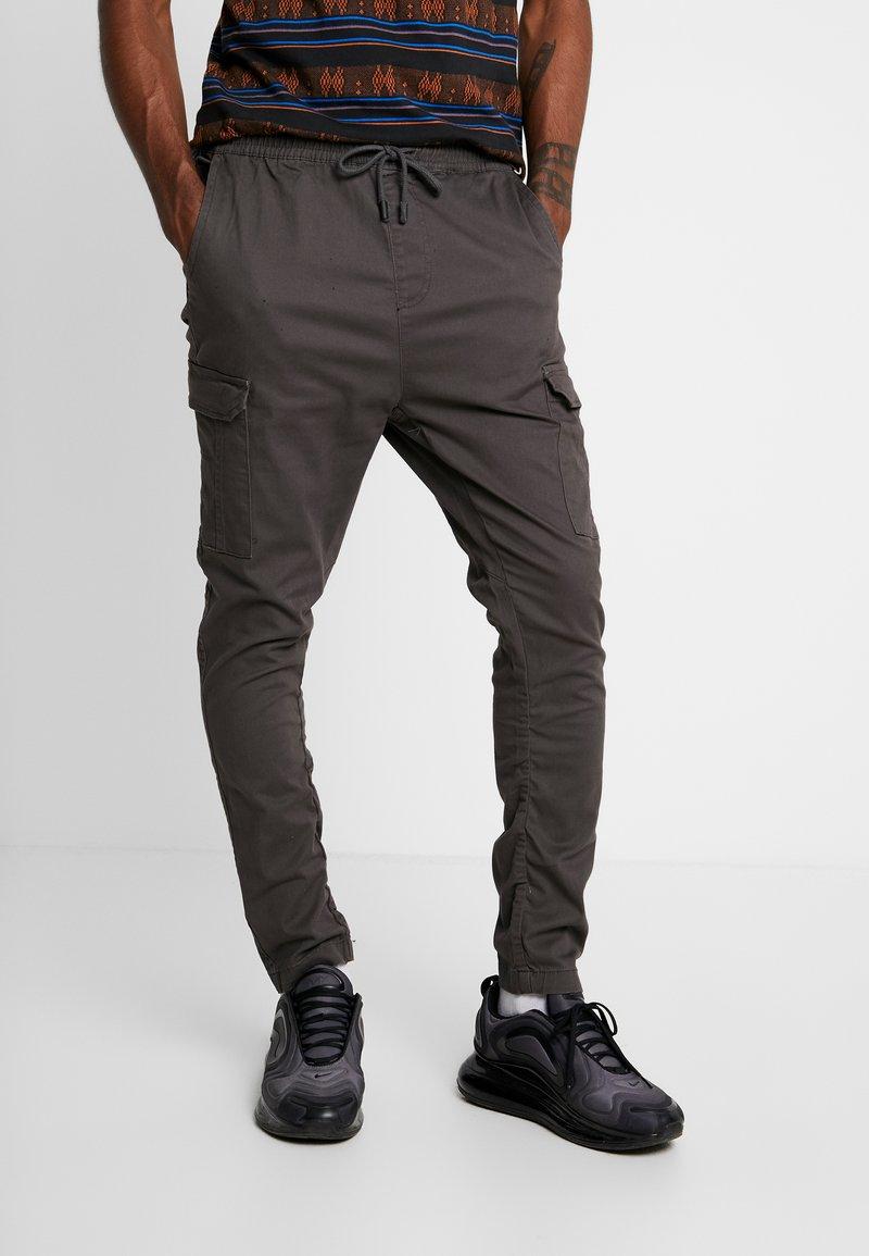 Brave Soul - HADDON - Pantalon cargo - charcoal grey