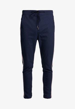 BUCKLEY - Trousers - navy stripe