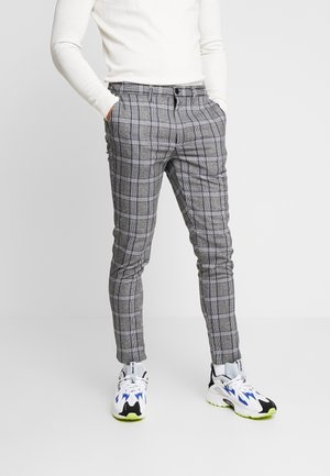 STONE - Broek - grey check