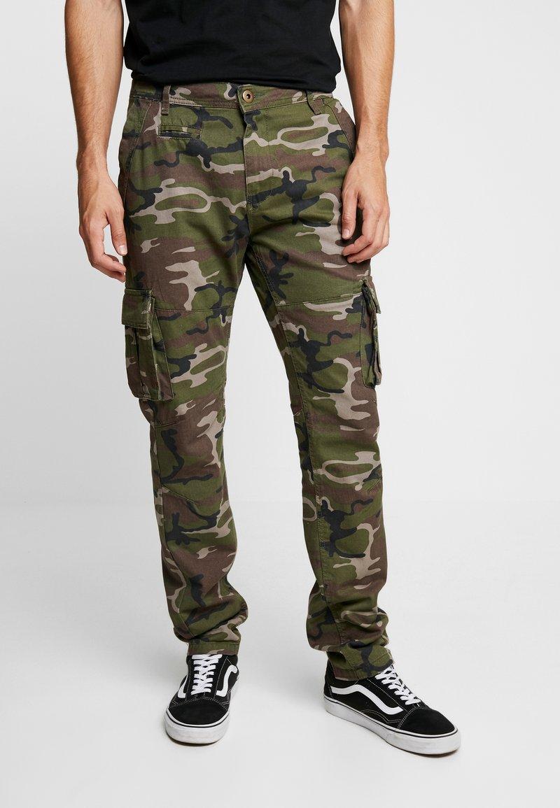 Brave Soul - ARMY - Cargo trousers - khaki