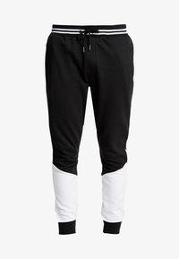 Brave Soul - SUNNY - Pantalones deportivos - black/ white - 3