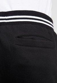 Brave Soul - SUNNY - Pantalones deportivos - black/ white - 4