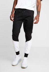 Brave Soul - SUNNY - Pantalones deportivos - black/ white - 0