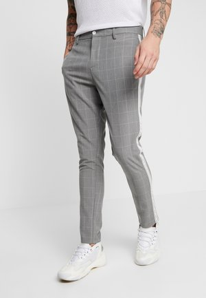 TREY - Trousers - grey check