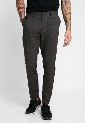 STEIN - Trousers - grey/dark green