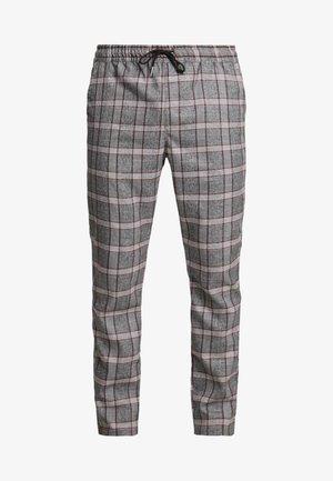 CHRISTIAN - Kalhoty - grey/red