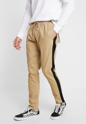 SEAN - Pantalones - stone/black