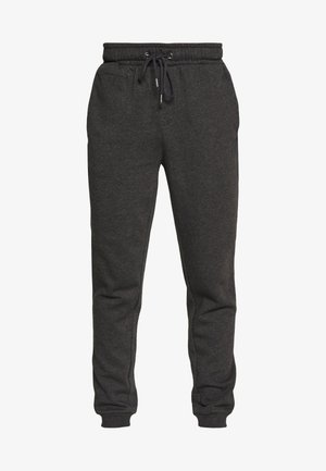 STEING - Tracksuit bottoms - dark charcoal marl