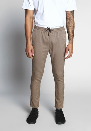 EDWARD - Trousers - brown
