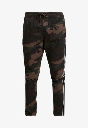 CUBAN - Teplákové kalhoty - khaki camo