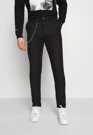 CHESTER - Broek - dark grey