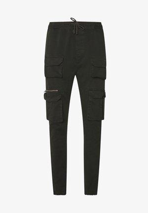 MOLTON - Pantalon cargo - khaki