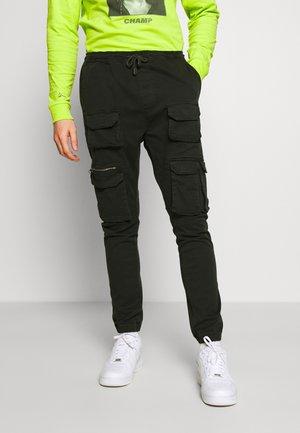 MOLTON - Pantaloni cargo - khaki
