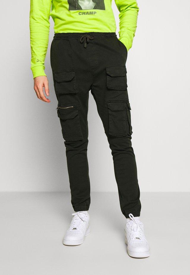 MOLTON - Cargo trousers - khaki