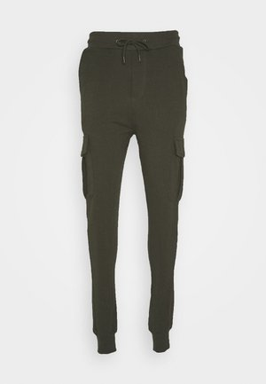 Tracksuit bottoms - khaki
