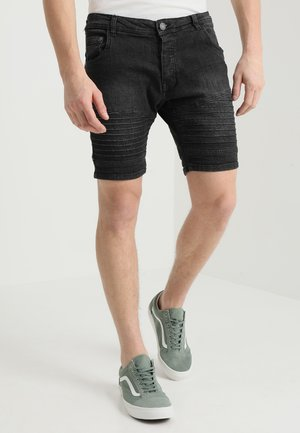 Jeansshort - grey wash