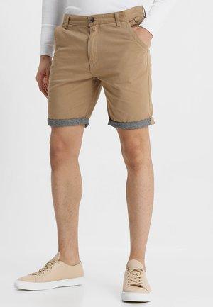 HANSENCHAM - Shorts - stone/chambray