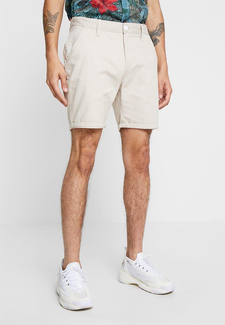 Brave Soul - Jeans Shorts - stone