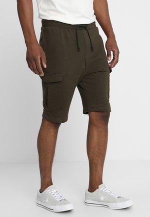 AUDEN - Teplákové kalhoty - dark khaki