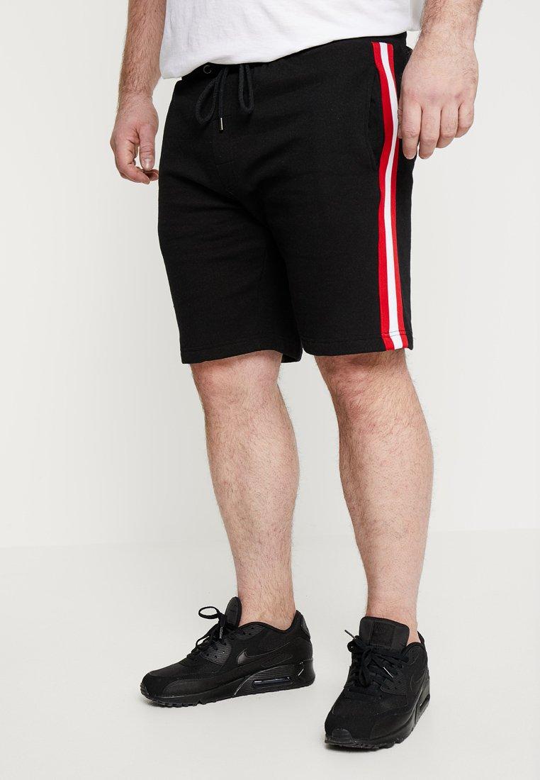 Brave Soul - LEVEL - Jogginghose - black/ red/white