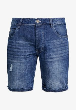 WILLSTAPE - Shorts vaqueros - light blue wash