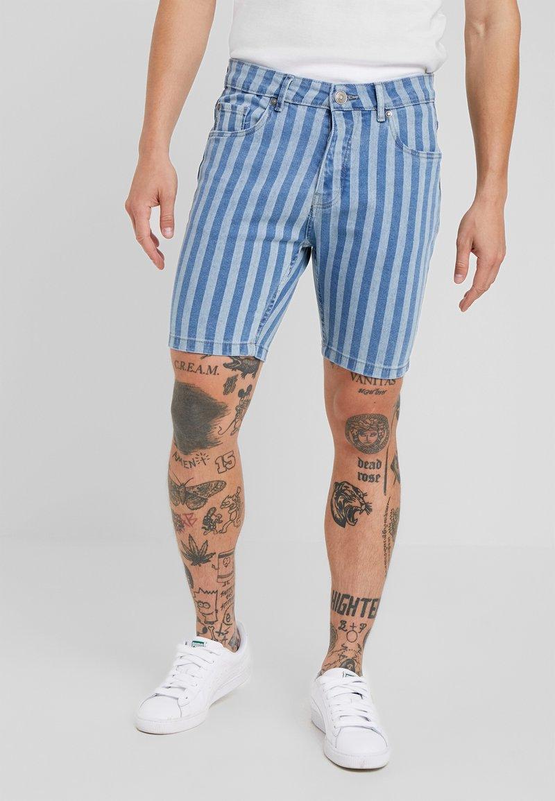 Brave Soul - SETH - Jeans Shorts - blue/navy