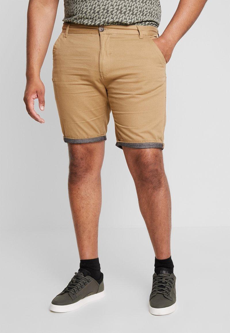 Brave Soul - HANSENCHA PLUS - Shorts - beige