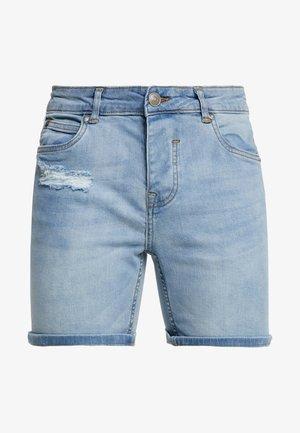 MEMPHIS - Jeansshorts - blue denim