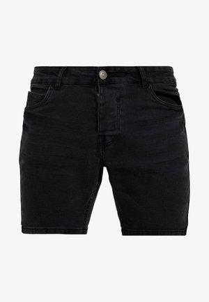 RONNIE - Denim shorts - charcoal wash