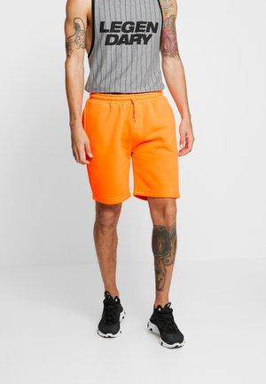 BRIGHT - Pantalon de survêtement - neon orange