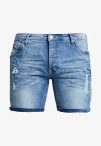 Brave Soul - TAYLOR - Jeansshorts - light blue