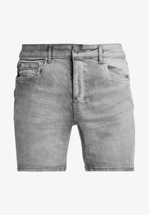 RICK - Jeansshorts - light grey