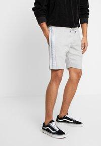 Brave Soul - DAMIAN - Shorts - grey marl - 0