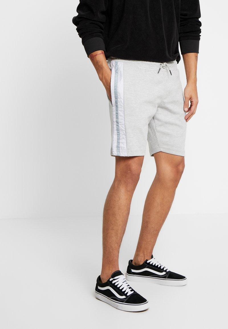 Brave Soul - DAMIAN - Shorts - grey marl