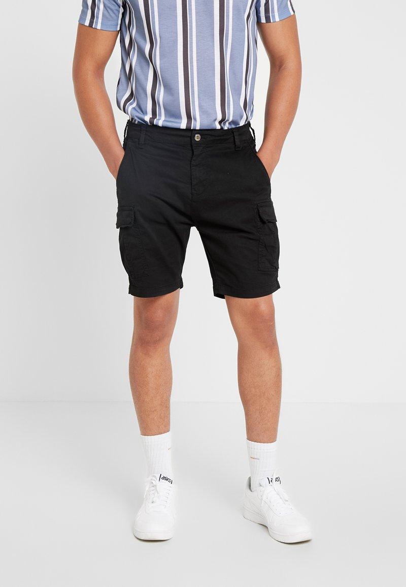 Brave Soul - DENVER - Shorts - black