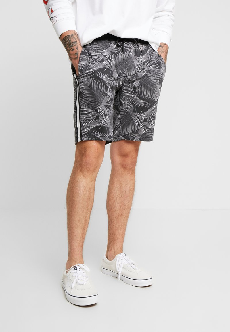 Brave Soul - MAUI - Shorts - black/grey