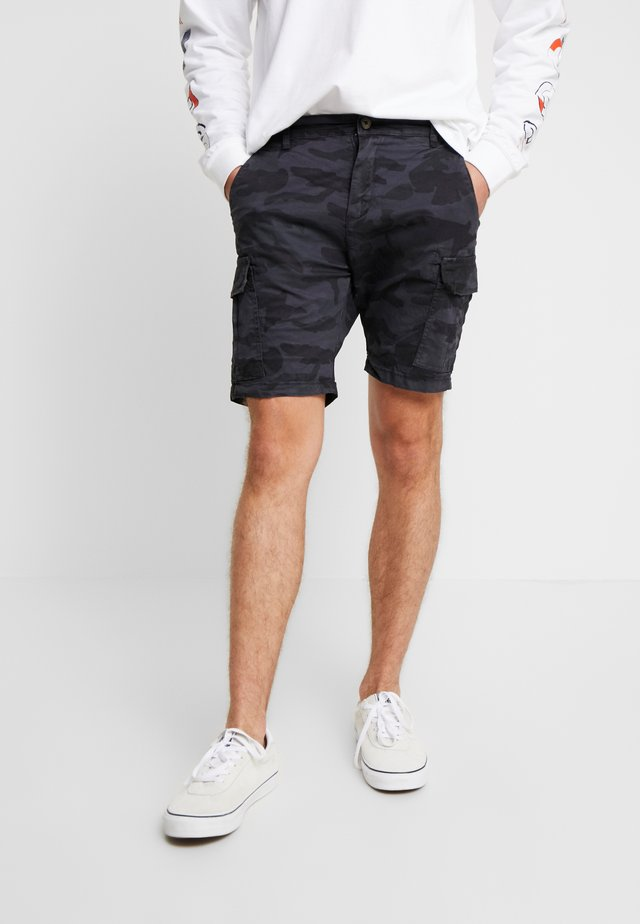 DENVER - Pantalon cargo - navy