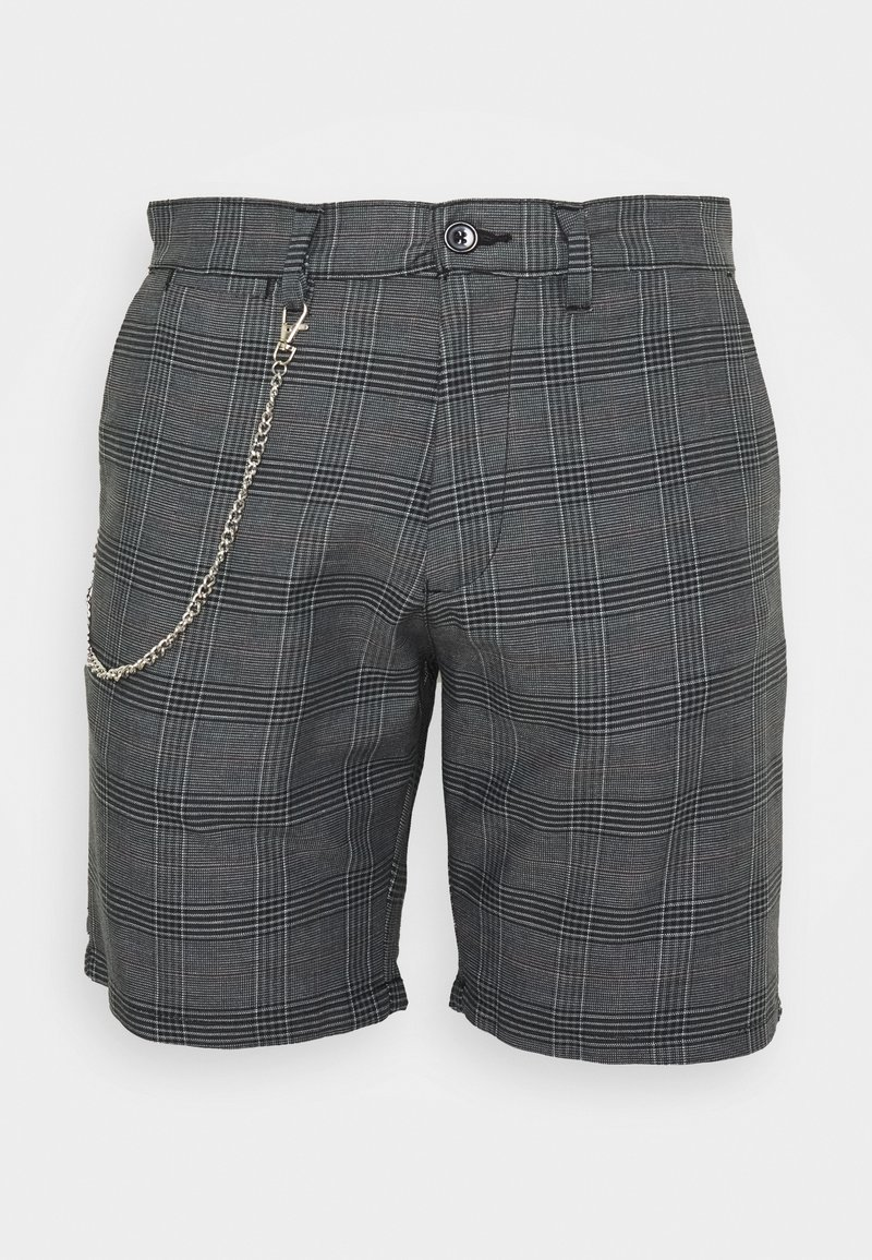 Brave Soul - LEROY - Shorts - grey/white