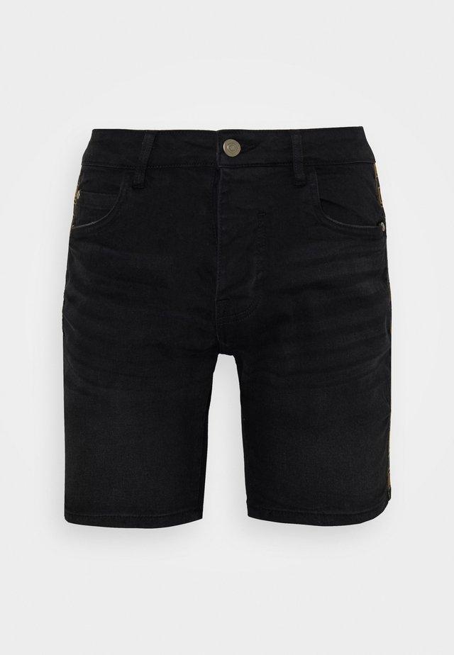 RUBIN - Shorts vaqueros - charcoal