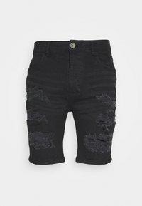 Brave Soul - DROGO - Shorts di jeans - charcoal - 0