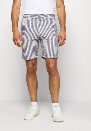 ASHTON - Shorts - blue/light pink