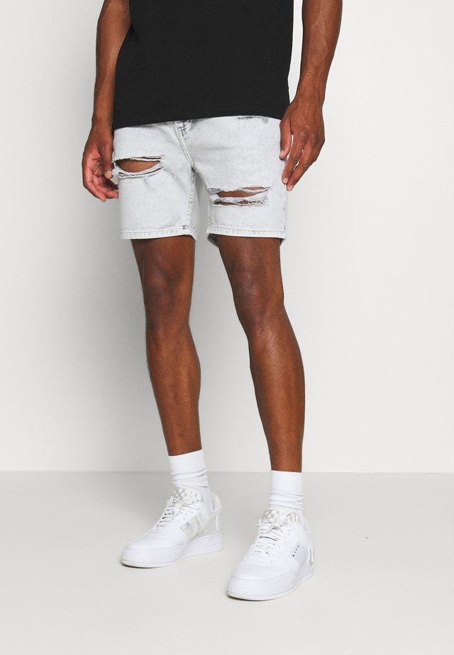 CANNESGREY - Jeans Shorts - grey
